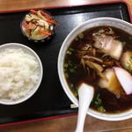 大幸食堂 - 料理写真:中華そば、小ライス