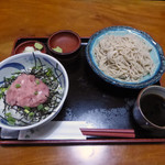 安曇野 - 料理写真:ねぎとろ丼セット(850円)_2018-05-28