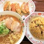 餃子の王将 - ラーメンセット(炒飯通常サイズ)