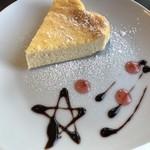 札幌 宮の森珈琲 - 料理写真:ベイクドチーズ