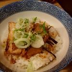 雷雷らーめん - ミニチャーシュー丼