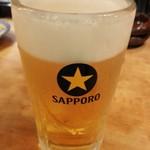 五郎八 - 生ビール