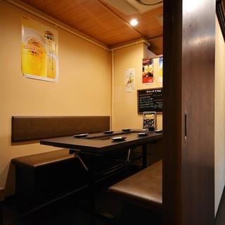 ●【濃厚接触なしの】完全個室!!