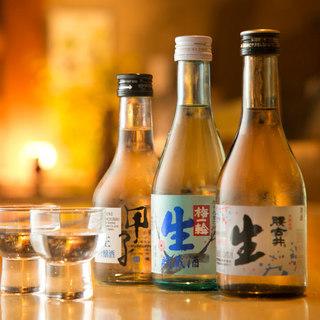 【お酒充実】千葉の地酒や全国の銘酒を厳選してご提供