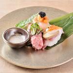 世界三大珍味の寿司