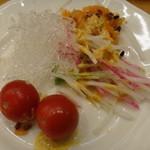 パスタ&ピッツァ デルパパ - 私は、まだ食べていない物を中心にサラダのお替りをいただきました