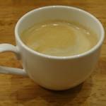パスタ&ピッツァ デルパパ - ホットコーヒー、一敗ずつ入れるコーヒー美味しいです