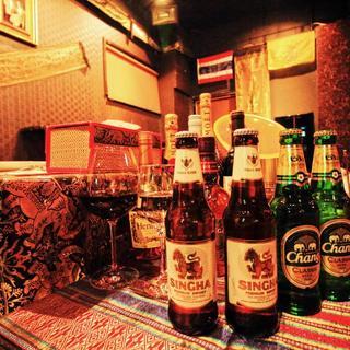 ◆タイ王室認定◆由緒ある【シンハービール】でプレミアム体験