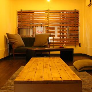 """これはもはや""""お部屋""""!最高の寛ぎ感で楽しめる完全個室♪"""