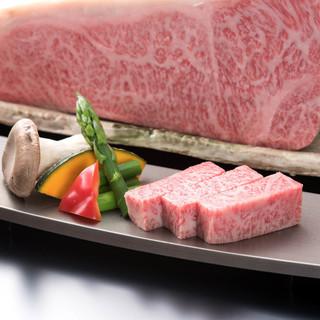 最高級A5ランク仙台牛サーロインのステーキが大人気