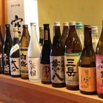 味楽 - ドリンク写真:日本酒  焼酎