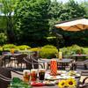 レストラン セントロ - ドリンク写真:庭園を望む開放感溢れるビアガーデン