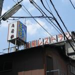 味田中 - 巨大な看板