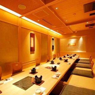【個室16室完備】接待・記念日に最適な和の個室・最大28名様