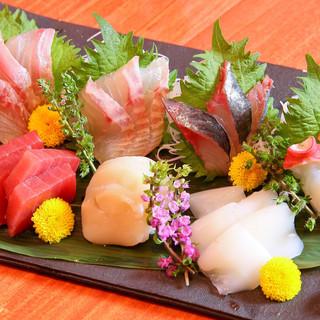 函館直送海鮮料理