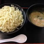 らーめん寺子屋 麺座 鷲ノ巣 - つけ麺特盛(麺480g)890円