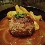 コトノハ・mog-mog食堂 - 自家製手ごねハンバーグ