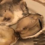 デザート - 焼き牡蠣
