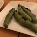 デザート - そら豆炭火焼き