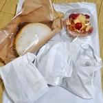 ブレッド アース - 購入したパン(一部)