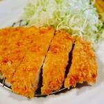 ろくまる五元豚 恵比寿店 - ロースカツ定食