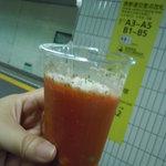ジュ・ド・クール - 2011年7月 トマトみそスープ