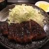 ソースかつ亭 黒のDON - 料理写真:黒ソースかつ定食