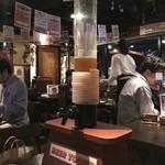 86763424 - これが特典のビールタワー(だいぶ飲んでしまっていますが…)