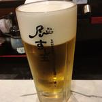 廻る富山湾 すし玉 - 生ビール!