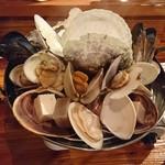 貝と魚シェルハラ - 貝蒸しM