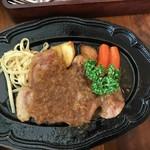 モンシェリー - 料理写真:那須郡司豚のポークソテー 和風シャリアピンソース◎2018/5