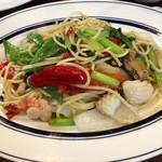 Thai Restaurant BASIL - 「シーフードバジルスパゲティ」(1200円)