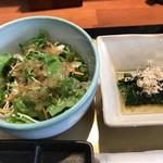 86770903 - 小鉢とサラダ