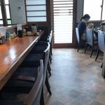 串揚げ串和 - 店内をパシャ 平日の12時10分