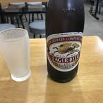 うまい屋 - ビール 中(500円)