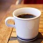 ファンゴー - ランチセットのホットコーヒー  +100円