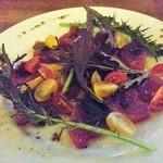 肉厚ステーキxワイン食堂 Mu - カツオのカルパッチョ