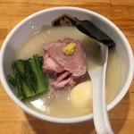 真鯛らーめん 麺魚 - 特製真鯛らーめん(1,050円)