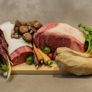 ◇有機野菜・熟成肉◇食材はシンプルに調理。味・質に自信あり。