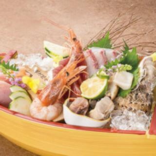 安全安心、産地直送鮮魚をたっぷりと楽しんで頂けます!