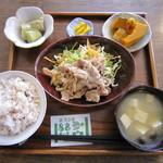 一心茶房 - 豚肉の生姜焼き