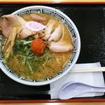ちゃーしゅうや武蔵 - 料理写真:からし味噌ちゃーしゅうめん