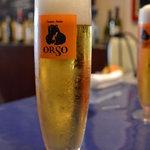 ORSO - とりあえずビール