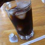 ミニレストラン クリサンサマム - アイスコーヒー