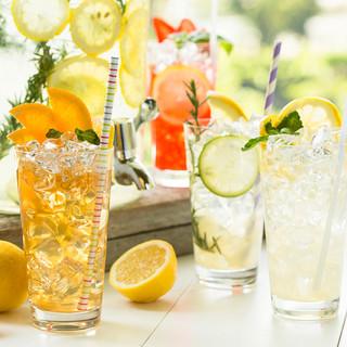 暑い季節にピッタリ!爽やかレモネードで乾杯☆