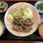 仙台・くじら 一乃谷 - 料理写真:くじら竜田揚げ定食(税込980円)