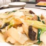 中国料理 龍王 - 海鮮あんかけ焼そば