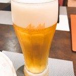中国料理 龍王 - ビール二杯目