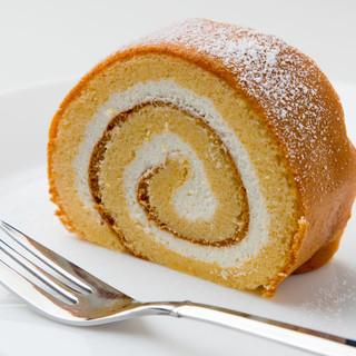 低糖質の魔法のロールケーキ
