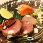 亜州食堂 チョウク - マトンのマサラ網焼き(:インド料理/DinnerMenu